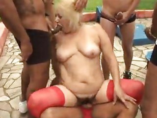 aged granny blonde victoria group sex outdoor sex