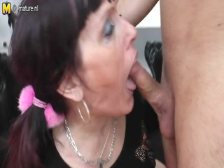 old doxy mother receives screwed by her toyboy