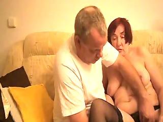 granny masturbating by chap friend