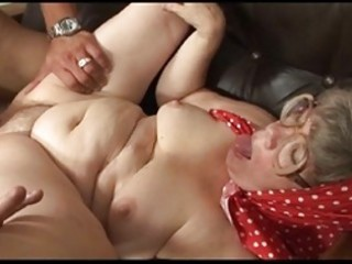 granny gets the best orgasm of h
