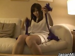 aya hirai lovely youthful oriental wife enjoy
