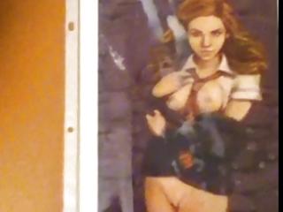 Hermione granger (emma watson hentai pic) gets cum