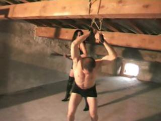 Slave husband gets punished by her mistress wife