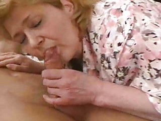 Mature woman falls on dick and breaks her hip