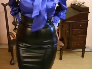 d like to fuck wearing tight satin petticoat