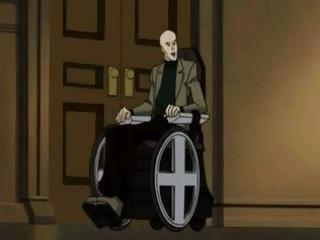 animated x-men episode with a older brunette