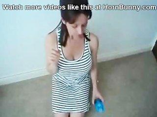 mom puts a jo-bag on her son - hornbunny.com