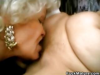grannies lovin that pounder