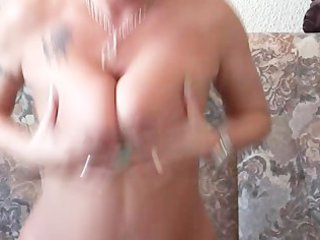 hot milf finishes her masturbation session with a