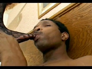 leather clad mother i takes a huge rod -