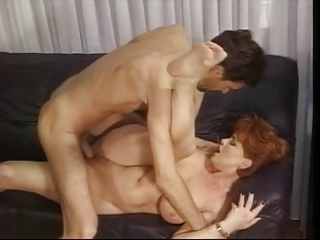 redhead german older kira screwed by biggest