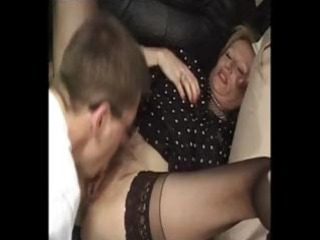 aged french, two lads & large sex-toy