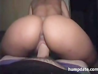 Bootylicious babe gets her ass fucked hard