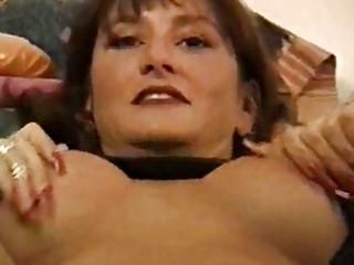 lusty milf babe nailed in hot black underware