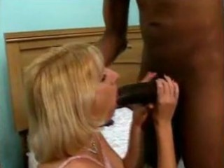 bored wife tries 54 inches of black cock
