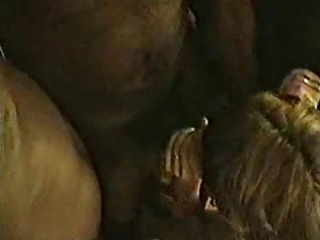 cuckold - darksome dudes join a aged for sex