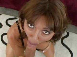 steamy hot momma desi foxx munches a massive dick