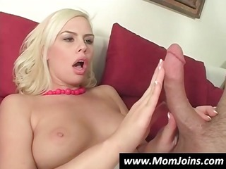golden-haired babes with huge honkers have sex