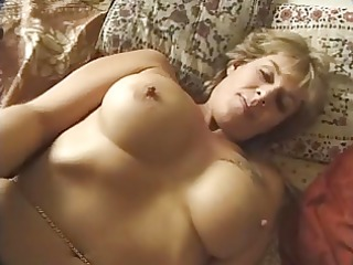 french aged n115 golden-haired anal mom with