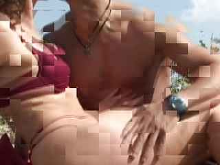 aged with tiny tits large teats receives fuck on