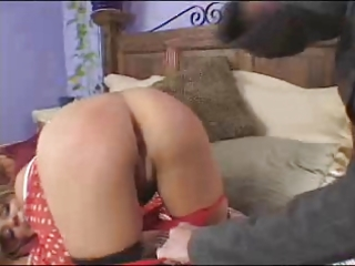 mommy takes rt ang spanks a faking brat