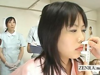 japan mother i doctor uses dildo with camera for