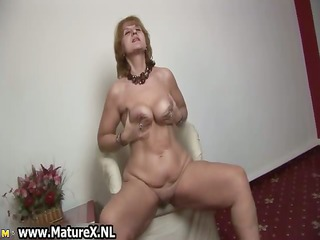 slutty old housewife is gratifying part6