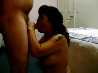 Husband FaceFucks his Asian Wife