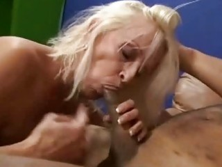 granny shows off her expert dick engulfing skills