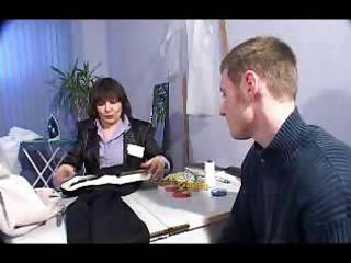 russian aged woman named rita copulates a