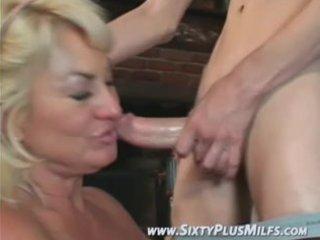 admirable blonde grandma avid to fuck