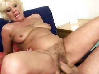 nasty granny getting drilled pretty hard