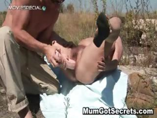 lewd milf acquires her shaggy muf drilled part11