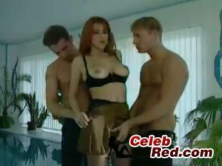 Selen  threesome stockings hardcore milf