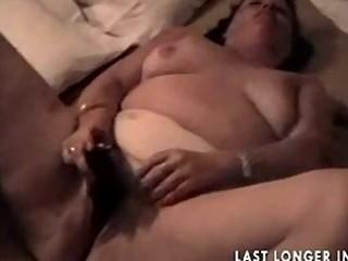 big beautiful woman granny rubbing it nicely