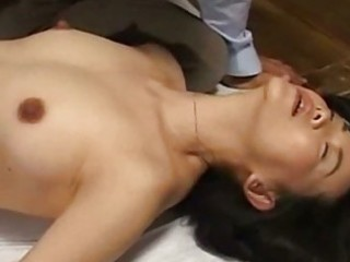 mother i in panty fingered giving blowjob on the