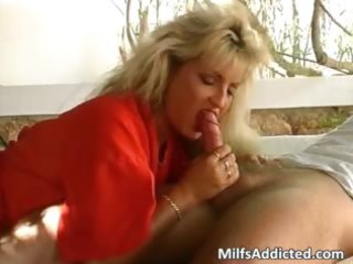 hot golden-haired mother i and her sexy bushy