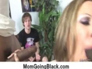 my mom go dark : hardcore interracial clip 3