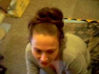 white wife licks darksome balls and facual