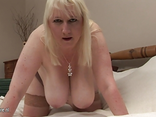 large breasted mature mommy going wild
