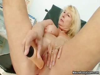 lewd aged mamma receives an orgasm from part0