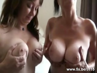 matures group-fucked by petite in number rods