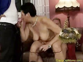 crazy old professional hooker shows mere miracles