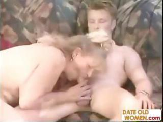 overweight german aged goes down on his cock and