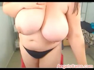 amateur large boobs chubby milf real live sex