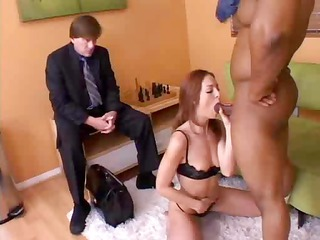 Riley Shy Fucks In Front Of Her Husband