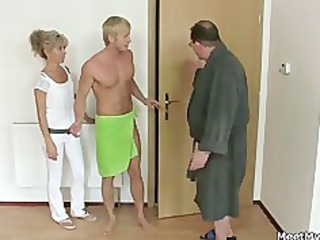his mama and dad tricks her into sex