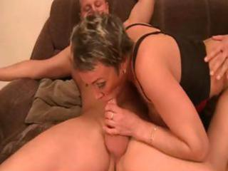 older momma makes out with four mighty meat