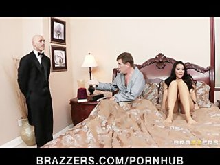 cheating asian wife has a wet fantasy about her