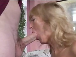 hot granny curvy golden-haired rheina shine aged
